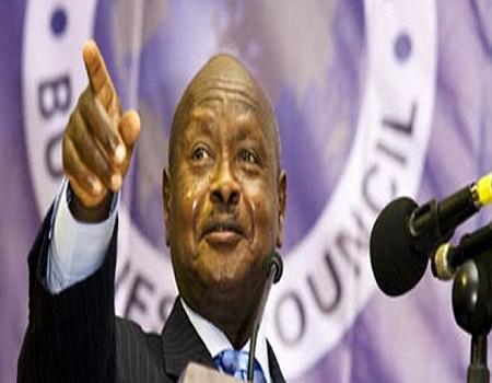 الرئيس الأوغندي يوري موسيفيني