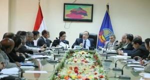 الدكتور محمد سلطان محافظ البحيرة واجتماع المجلس التنفيذي