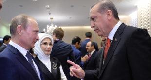 أردوغان يلتقي مع بوتين