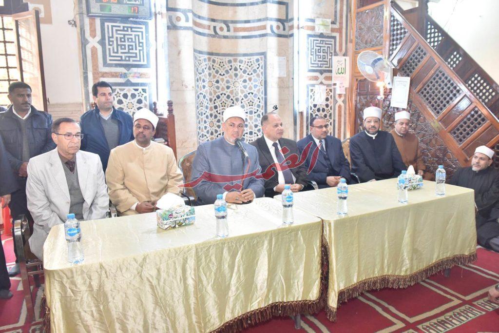 معرض كتاب اليوم الواحد بمسجد عمر مكرم ولقاء الأئمة وخطباء المساجد 9